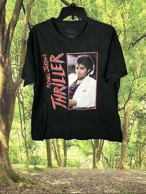 $3.25 • Buy MICHAEL JACKSON Official Thriller Retro  Vintage Distressed  T-Shirt Size XL🔥