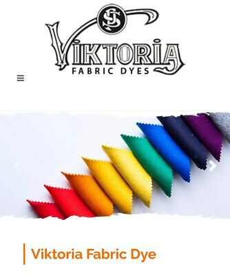 59 Colours Viktoria Fabric & Clothes  Tie Dye,  Hand & Machine Dye UK Stock  • 2.59£
