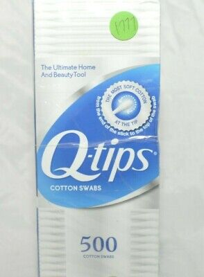 $ CDN31.55 • Buy Q-tips Cotton Swabs1500 Ct Total Family Pack 500 Ct New And Sealed