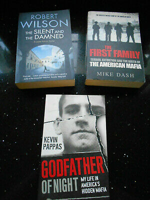 £8.99 • Buy Collection Of Books By Kevin Pappas, Mike Dash & Robert Wilson - Mafia - P & P