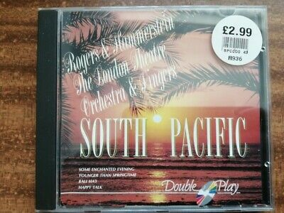 South Pacific Rogers & Hammerstein-The London Theatre Orchestra & Singers CD VG+ • 0.99£