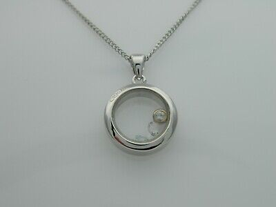 Clogau Sterling Silver & 9ct Rose Gold Inner Charm Circle Pendant RRP £149.00 • 39.95£