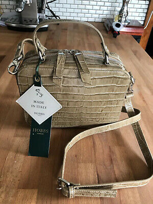 Hobbs Woodley Taupe Leather Bag BNWT RRP £159 • 52£