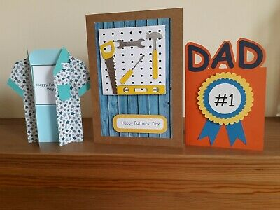 Card Kit For Dads, Easy To Make Kit For Children To Make Their Own Father's Day • 6£