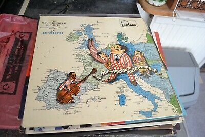 The Dave Brubeck Quartet    In Europe   Lp    Fontana Rfecords   Tfl 5034  1958 • 8.49£