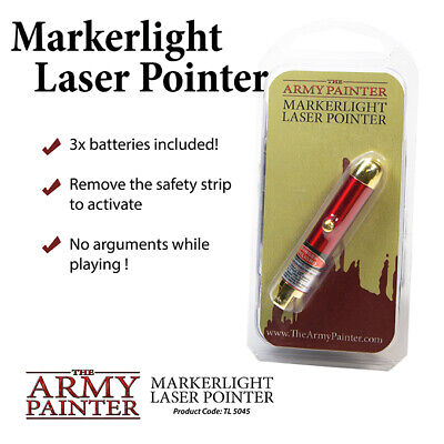 £8.50 • Buy  The Army Painter Marker Light Laser Pointer For Table Top Wargaming TL5045