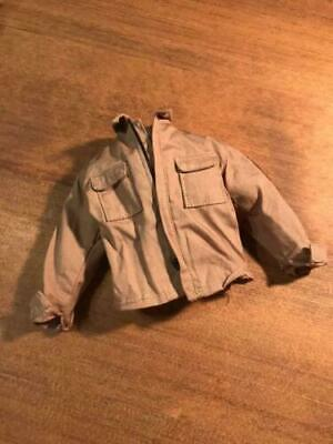 $ CDN64.88 • Buy Miniature 1/6 Scale Predator Dutch Tan Jacket Arnold Hot Toys For 12  Figure Mms