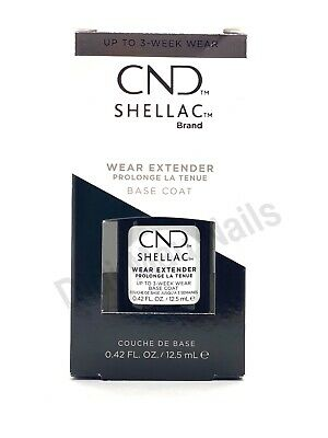 AU29.60 • Buy CND Shellac UV Wear Extender Smoothing Base Coat .42 Oz
