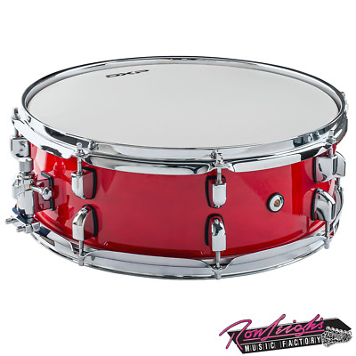 AU219 • Buy DXP DXP155RM 14  Maple Shell Snare Drum In Red Maple