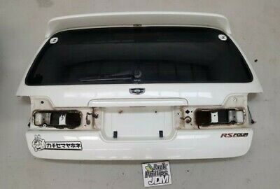 AU130 • Buy Nissan Stagea C34 Rear Tailgate Boot Bootlid With Spoiler White
