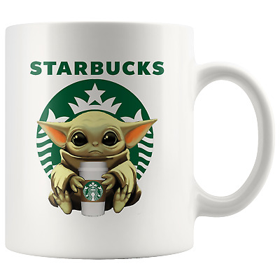 $17.97 • Buy STARBUCKS Baby Yoda Funny Yoda Starbucks Coffee Mug Gift|Star Wars Yoda Fan Gift