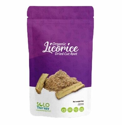 Certified Organic Licorice Dried Cut Root - 8 Oz. - Product From Turkey - Tea • 12.37£