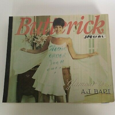 $39.99 • Buy Butterick Sewing Pattern Catalog January February 1995 Store Counter Book Large
