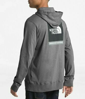 $32.99 • Buy NWT The North Face Boxed Out Injected Full Zip Lightweight Hoodie Gray Heather