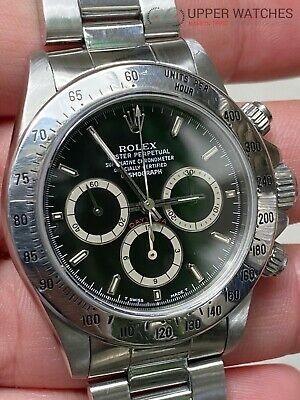 $ CDN54343.83 • Buy Rolex 16520 Daytona Zenith Inverted 6 FULL SET BOX, PAPERS And Tags Complete