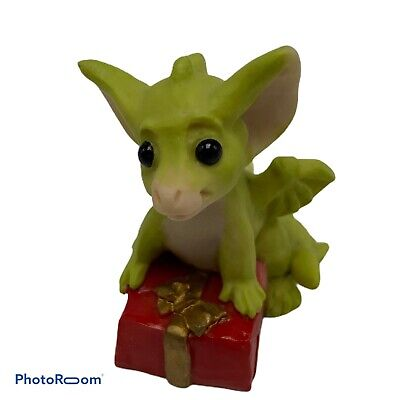 $24.99 • Buy Whimsical World Pocket Dragons Its A Present 1994 Real Musgrave UK Green Dragon