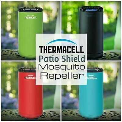 $23.40 • Buy Thermacell MR-PSG Patio Shield Mosquito Repeller 15 Foot Bug Protection