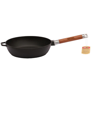 £56.52 • Buy Cast Iron Frying Pan Removable Handle Deep Frying Pan Induction Oven