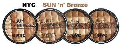 NYC Sun N Bronze Bronzing, Color Wheel Mosaic Face Powder - Choose Your Color • 10.12£