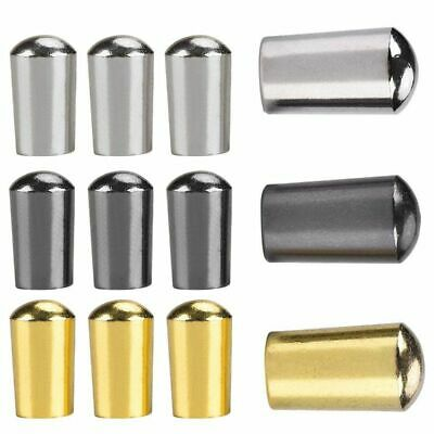 $ CDN6.30 • Buy 3Pcs Guitar Switch Tip,3 Way Toggle Switch Knob Tip Cap Copper For Lp Epi  W7C7