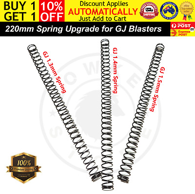 AU12.98 • Buy 220mm Spring Upgrade For GJ M24/AWM/KAR 98k Accessories Gel Ball Blaster Parts