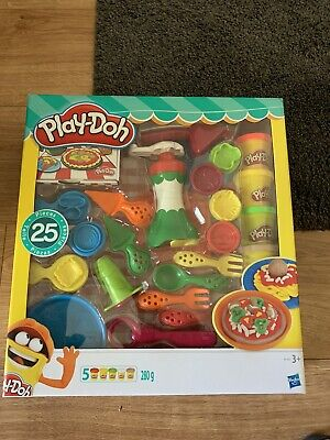 Play-doh Pizza Shop Set Brand New Un Wanted Gifrt 25 Piece Set  • 7£