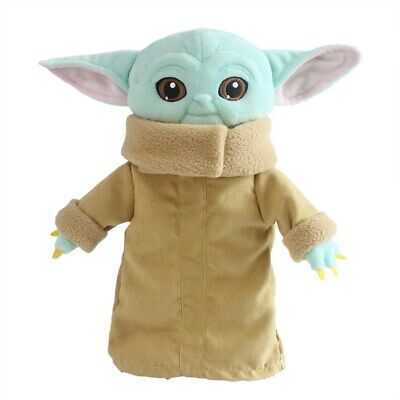$10.99 • Buy Free Shipping 30cm Baby Yoda Plush Toys Master Yoda Stuffed Doll Children Gift