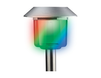 Boxed Colour Changing Solar Stake Light. - Powered Light Outdoor Garden • 3.95£