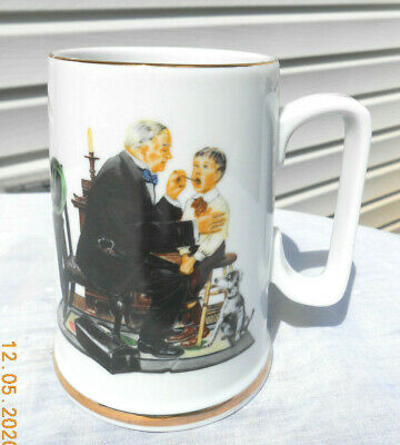 $ CDN8.63 • Buy 1986 Norman Rockwell Museum  The Country Doctor  Mug