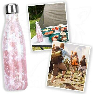 AU32.17 • Buy 500ML Fashion Stainless Steel Vacuum Insulated Bottle Water Bottles Thermoses KK