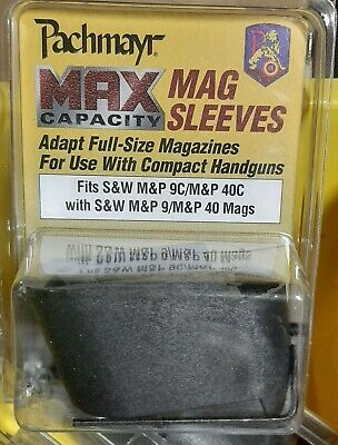 $11.95 • Buy Mag Sleeve Smith & Wesson M&P 9C/40C With S&W M&P 9/40 Mags Pachmayr 03856