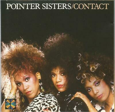 Pointer Sisters - Contact 1985 CD Album • 7£