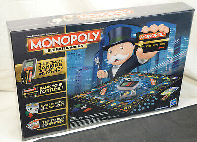 $24.99 • Buy Brand New In Box Mint Factory Sealed Ultimate Banking Electronic Monopoly Game