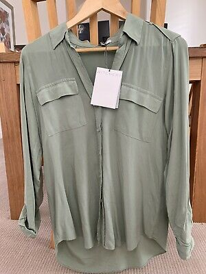 AU19.95 • Buy WITCHERY UTILITY SHIRT SIZE 10, With Tags, Excellent Condition