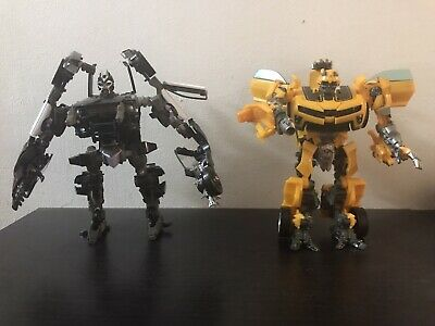 $60 • Buy Transformers Movies ROTF Human Alliance Barricade Bumblebee Incomplete Lot READ!