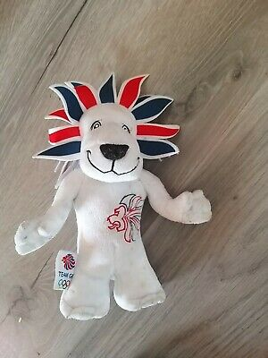 London Olympics Pride The Lion Team GB Toy 2012 London Mascot. Free UK Postage • 7.99£