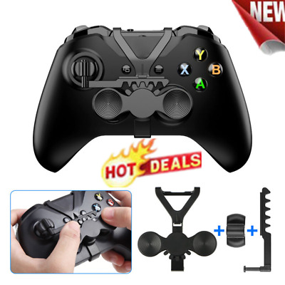 $11.29 • Buy HOT!!! For Xbox One X Game Controller Steering Wheel Add-on Racing Game Kit Jk3d