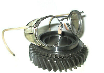 $79.99 • Buy Antique American Optical Ful Vue Safety Glasses Goggles Vtg Old Steampunk AO