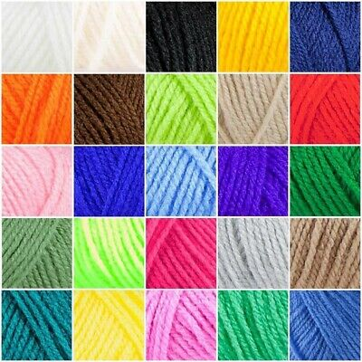 High Quality Double Knitting Wool Yarn Olympus Double Knitting 100% Acrylic • 5.22£