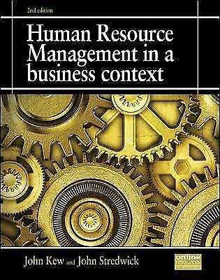 Human Resource Management In A Business Context By Kew, John  • 20£