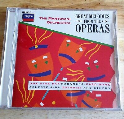 The Mantovani Orchestra - Great Melodies From The Operas - CD  • 1.99£
