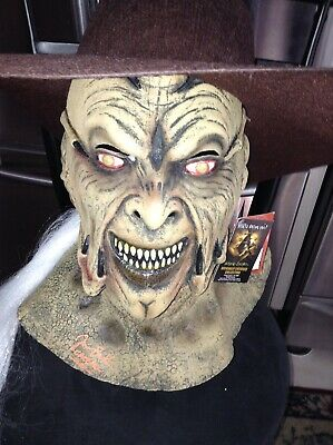 $94.99 • Buy Jeepers Creepers JONATHAN BRECK SIGNED MASK WITH HAT TRICK OR TREAT STUDIOS TAGS