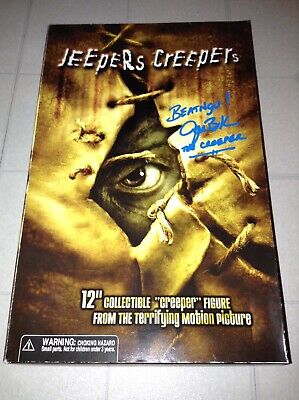 $299.99 • Buy Jeepers Creepers SIGNED 12  INCH Action Figure Majestic Studios JONATHAN BRECK