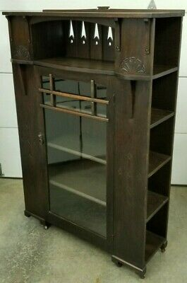 $1400 • Buy 1920's ARTS & CRAFTS MISSION OAK BOOKCASE
