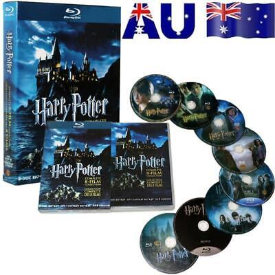 AU28.99 • Buy AU Harry Potter DVD 1-8 Movie Complete Collection Films Box Set New Sealed