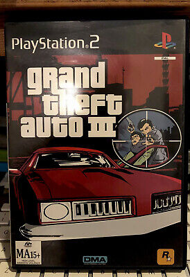 AU9.95 • Buy Grand Theft Auto 3 PS2 With Manual Cleaned Tested, Free Fast Post Oz 🇦🇺Seller