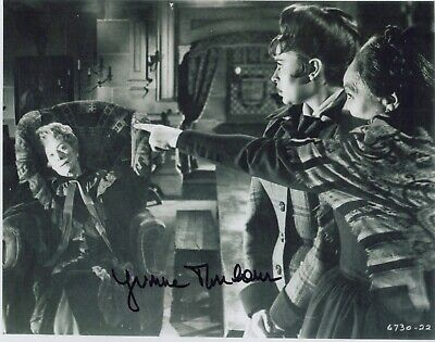 AU45.94 • Buy Yvonne Monlaur Photo Signed In Person- Marianne In The Brides Of Dracula - F994