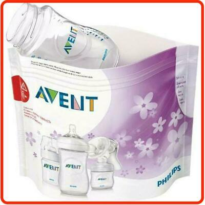 AU23.95 • Buy ❤ Philips AVENT Microwave Steam Steriliser Bags 5 Pack BPA Free Baby Toddle ❤