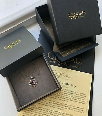 Clogau Tree Of Life Sterling Silver And 9ct Rose Gold Pendant  • 40£