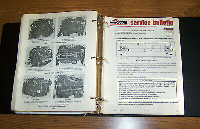 $9.95 • Buy Mercruiser Stern Drive Inboards Service Manual Bulletins 83-1 To 90-8 200+